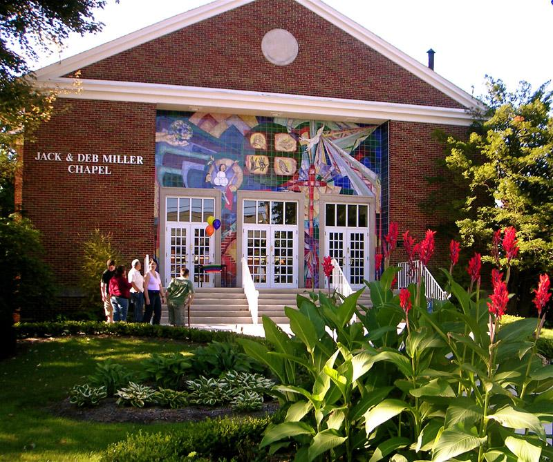 Ashland university Chapel Art