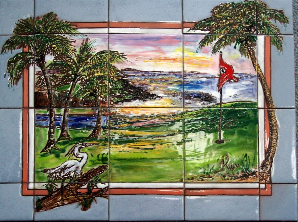 Golf Course Wall Murals In Kansas City MO Payne Creations
